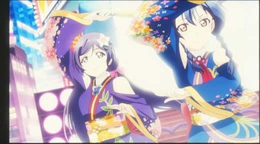 劇場版 ラブライブ!特典フィルム13 Angelic Angel 踊る希と海未