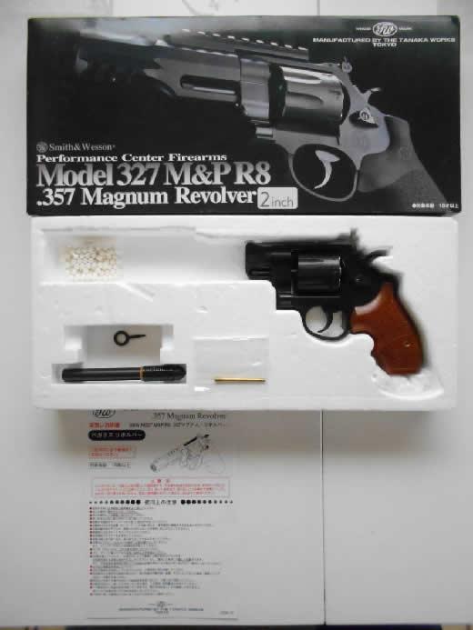 タナカ S&W M327 M&P R8 PC パフォーマンスセンター 2インチ 美品