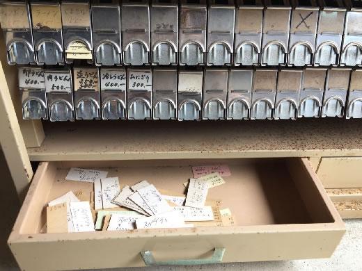 ■レトロ■古い鉄製 硬券 切符棚 ホルダー 乗車券箱