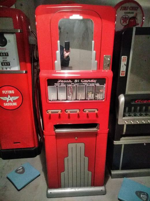 アンティーク ミッドセンチュリー 自動販売機 キャンディマシン
