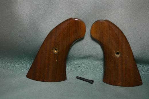 絶版 金属モデルガン 木製グリップ CMC レミントン リボルバー アーミー&ネイビー タナカの製品で使用可