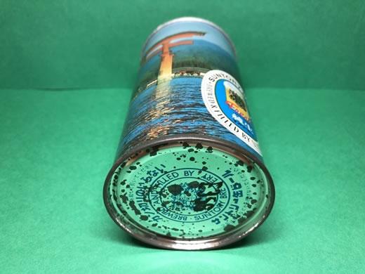 No.009 稀少 当時物 サントリービール 純生 瀬戸内海国立公園 350ml スチール缶 空き缶