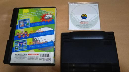 ネオジオ家庭用ROMカセット ビッグトーナメントゴルフ(送料込み)