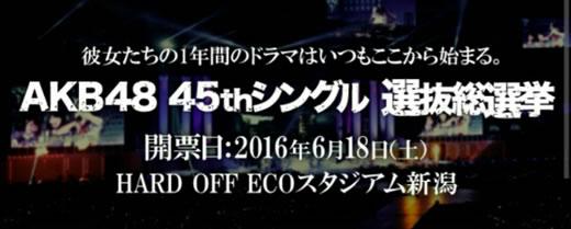 AKB48 45th選抜総選挙 投票券 500枚 送料無 モバおまけ 手配済み
