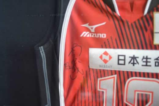 ☆2010年世界バレー銅メダル木村沙織サイン入りユニ&ジャージ☆