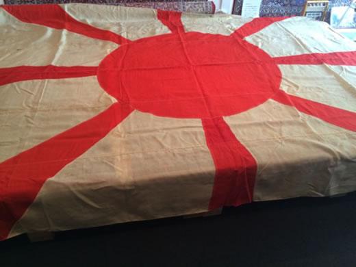 【菊】終戦70年特別出品■戦艦長門大将旗■山本五十六時代■海軍
