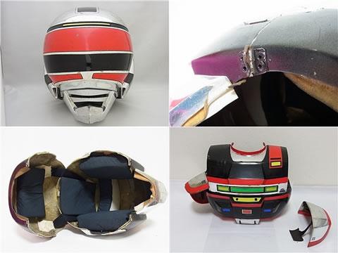 時空戦士スピルバン 1/1 撮影用プロップ マスク コスチューム
