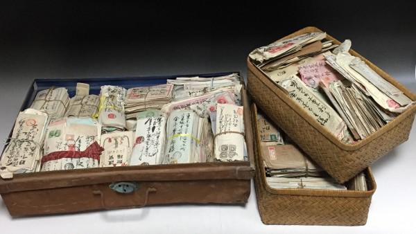 ◆岡山県の旧家より 明治〜戦前のエンタイア約22kg 江戸期も含む 古切手 紙物