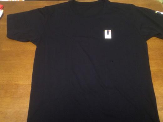 東京五輪 エンブレム パロディ Tシャツ ブラックL オリンピック