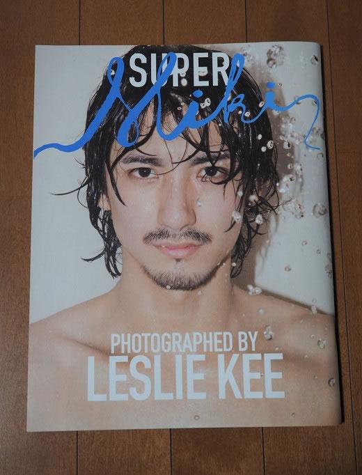 絶版レア物 LESLIE KEE レスリー・キー SUPER MIKI 写真集