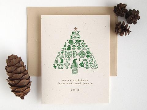 これで決まり!!すっごくオシャレなクリスマスカード