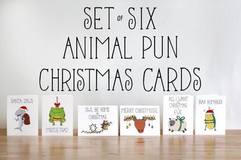オシャレなクリスマスカード (2)