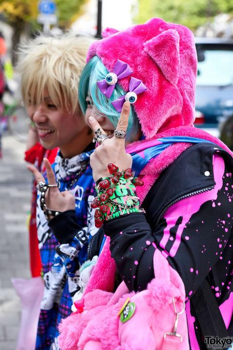 日本の奇抜なファッション (6)