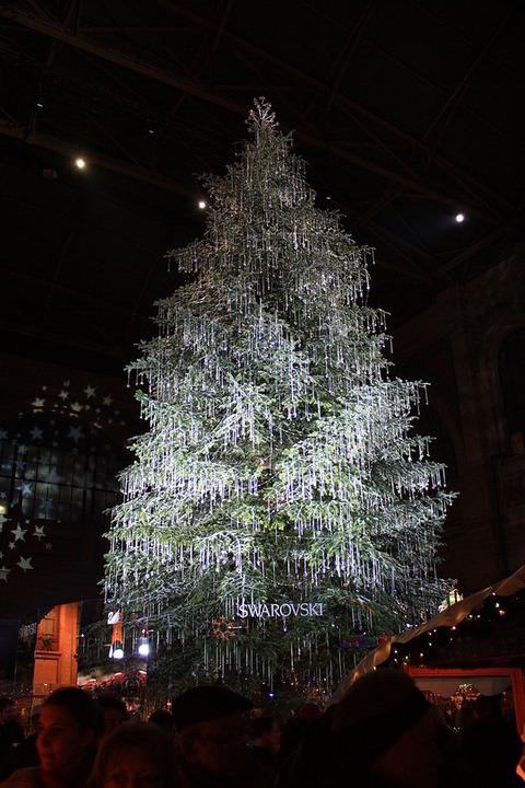ちょっと変わったクリスマスツリー (3)