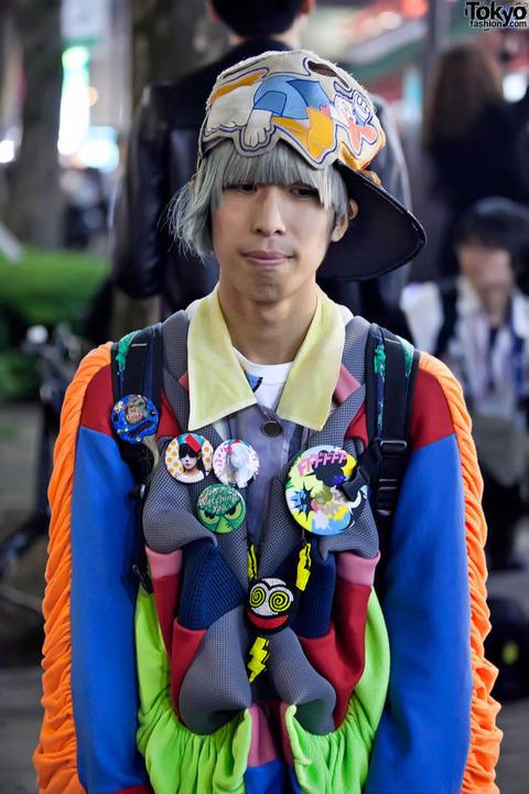 日本の奇抜なファッション (7)