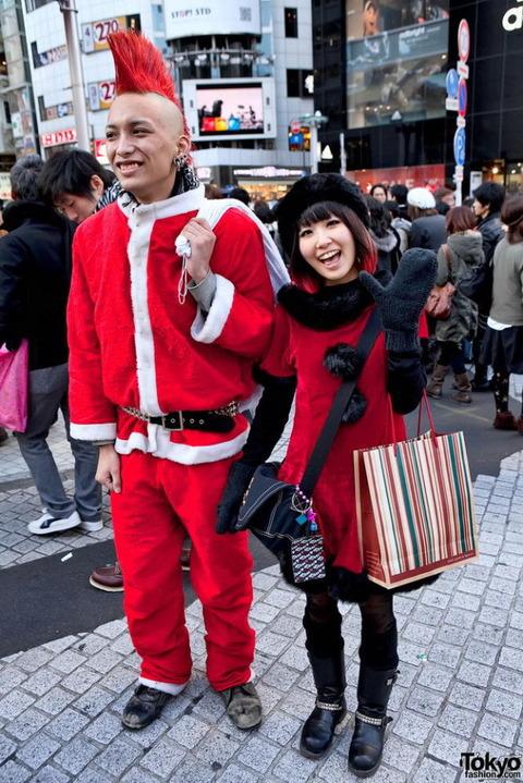 日本の奇抜なファッション (5)
