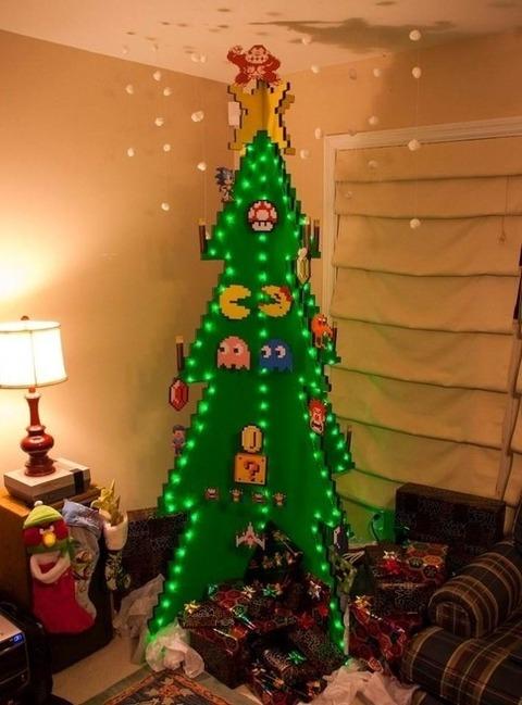 ちょっと変わったクリスマスツリー (7)