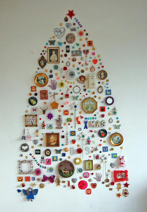 ちょっと変わったクリスマスツリー (6)