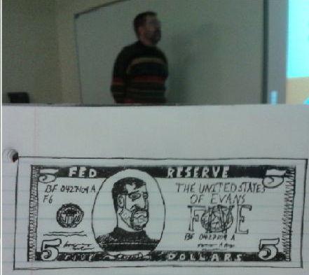 授業中に先生の落書き (4)