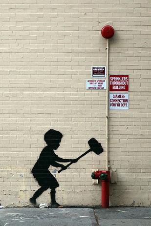 街中のアートを動画にするともっと凄いアートになった!!