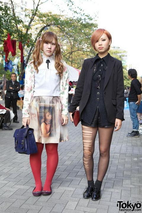 日本も負けてない!!かなり奇抜で個性的なファッション