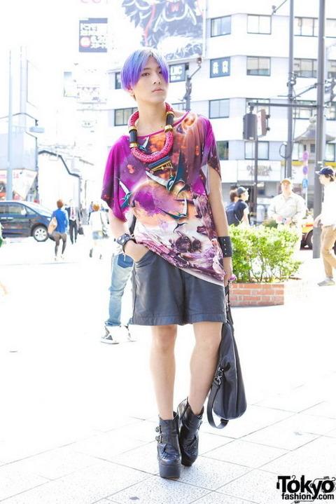 日本の奇抜なファッション (4)