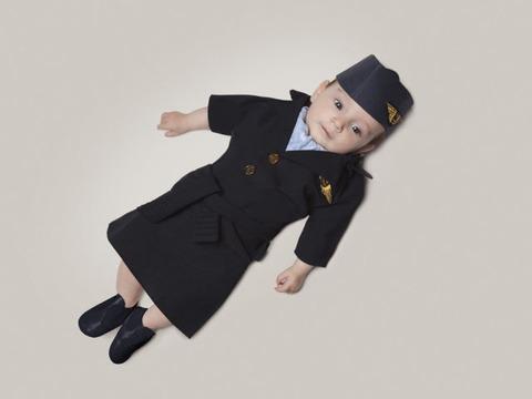 赤ちゃんのコスプレ (7)