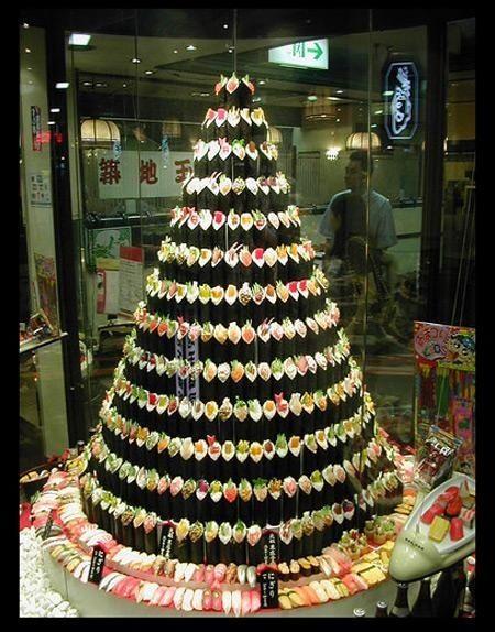 ちょっと変わったクリスマスツリー (2)