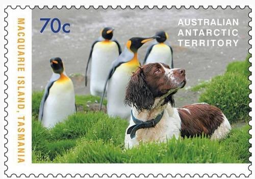 犬が描かれた切手の画像をひたすら貼ってくよ9