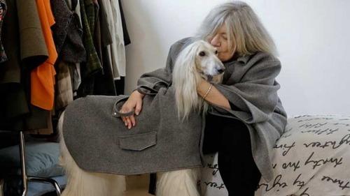 ミラノでは犬もオートクチュール