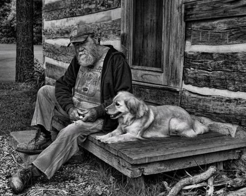 「犬 + お爺ちゃん」とかいう至高の組み合わせ4