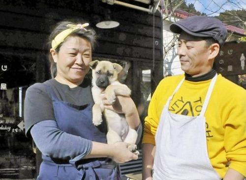 散歩中の子犬、お手柄 高知県馬路村に自生トリュフ