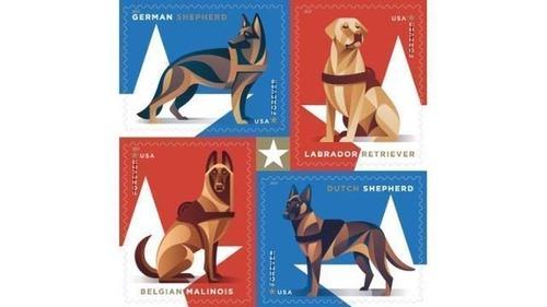 犬が描かれた切手の画像をひたすら貼ってくよ5