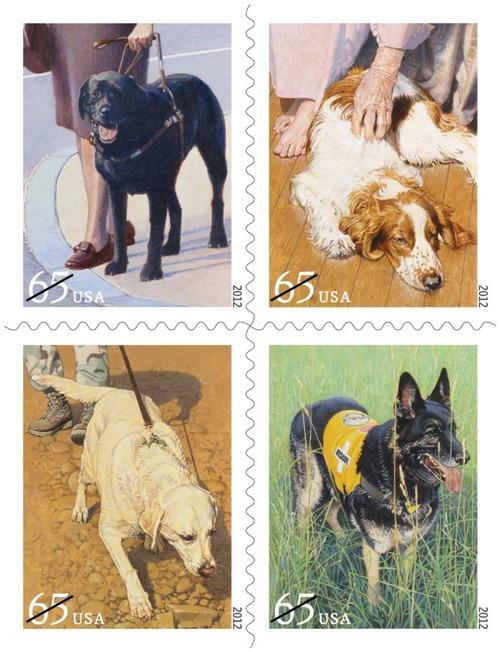 犬が描かれた切手の画像をひたすら貼ってくよ4