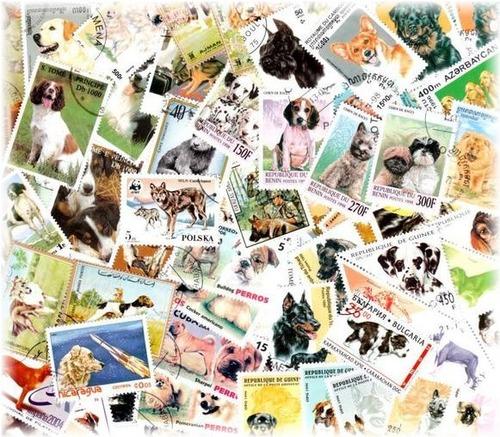 犬が描かれた切手の画像をひたすら貼ってくよ16