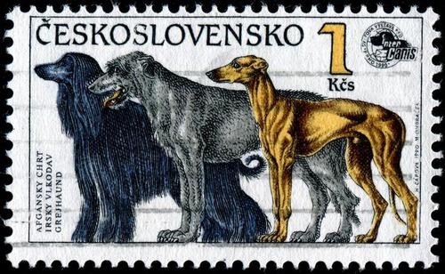 犬が描かれた切手の画像をひたすら貼ってくよ18