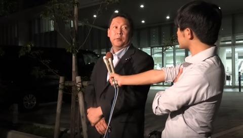 N国党・立花氏 3回目の事情聴取