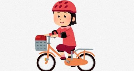 女児の自転車からヘルメットを盗んだ無職逮捕