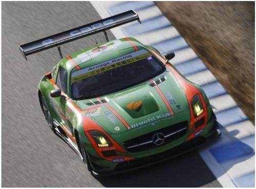 現役スーパーGT参加車両!「SLS-AMGGT3カー」4