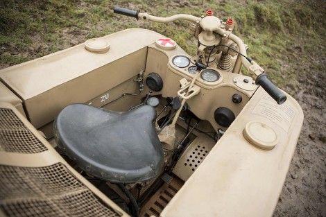 ナチスドイツ軍のバイク装甲車がオークションへ3
