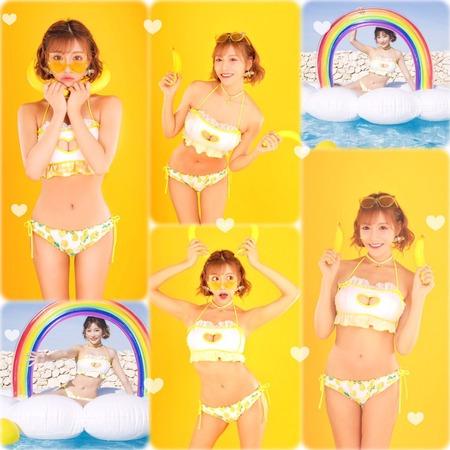 セクシー女優の明日花キララさんがプロデュースした水着2