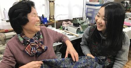 メルカリで大人気の元縫製職人のおばあちゃん