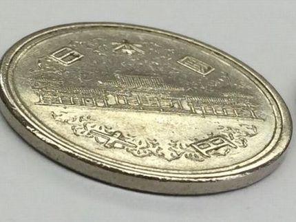 【エラーコイン?】10円玉 銀色 昭和39年6