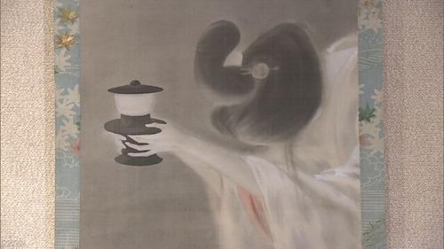 怪談「皿屋敷」お菊さんの幽霊画