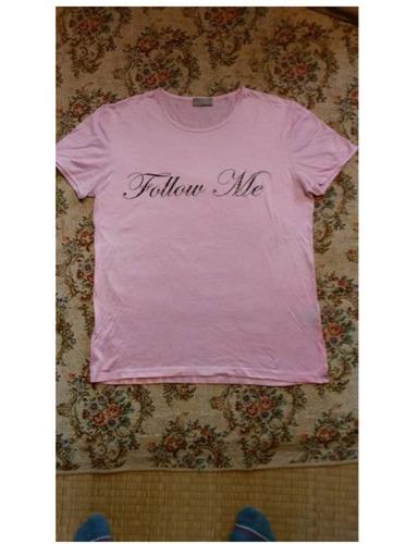 ピンクに綺麗になってしまったディオールオムのTシャツ2