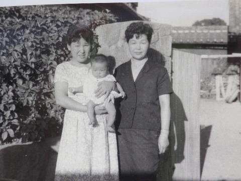 母ちゃんとおばさんと姉