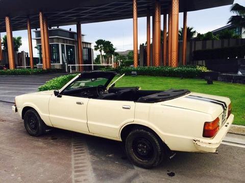 中古フォードモデルCORTINA年1980