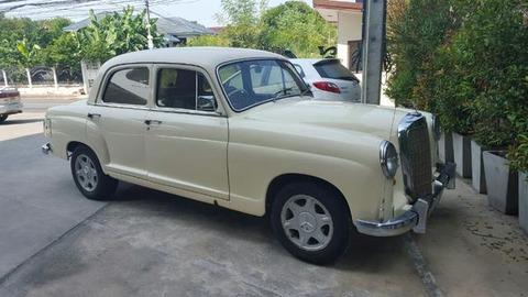 ベンツクラシックカー1957メルセデスベンツ190 3