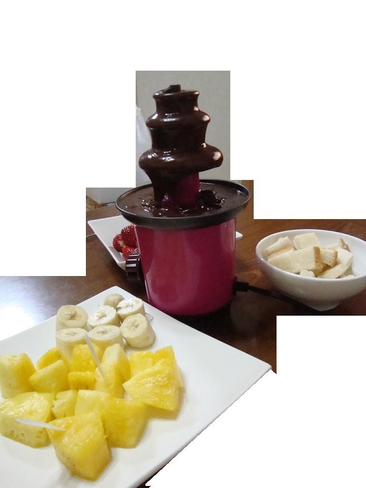 24,2,19家飯チョコレートフォンデュ編 (2) - コピー
