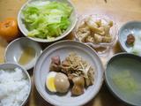 2008年2月12日の夕飯